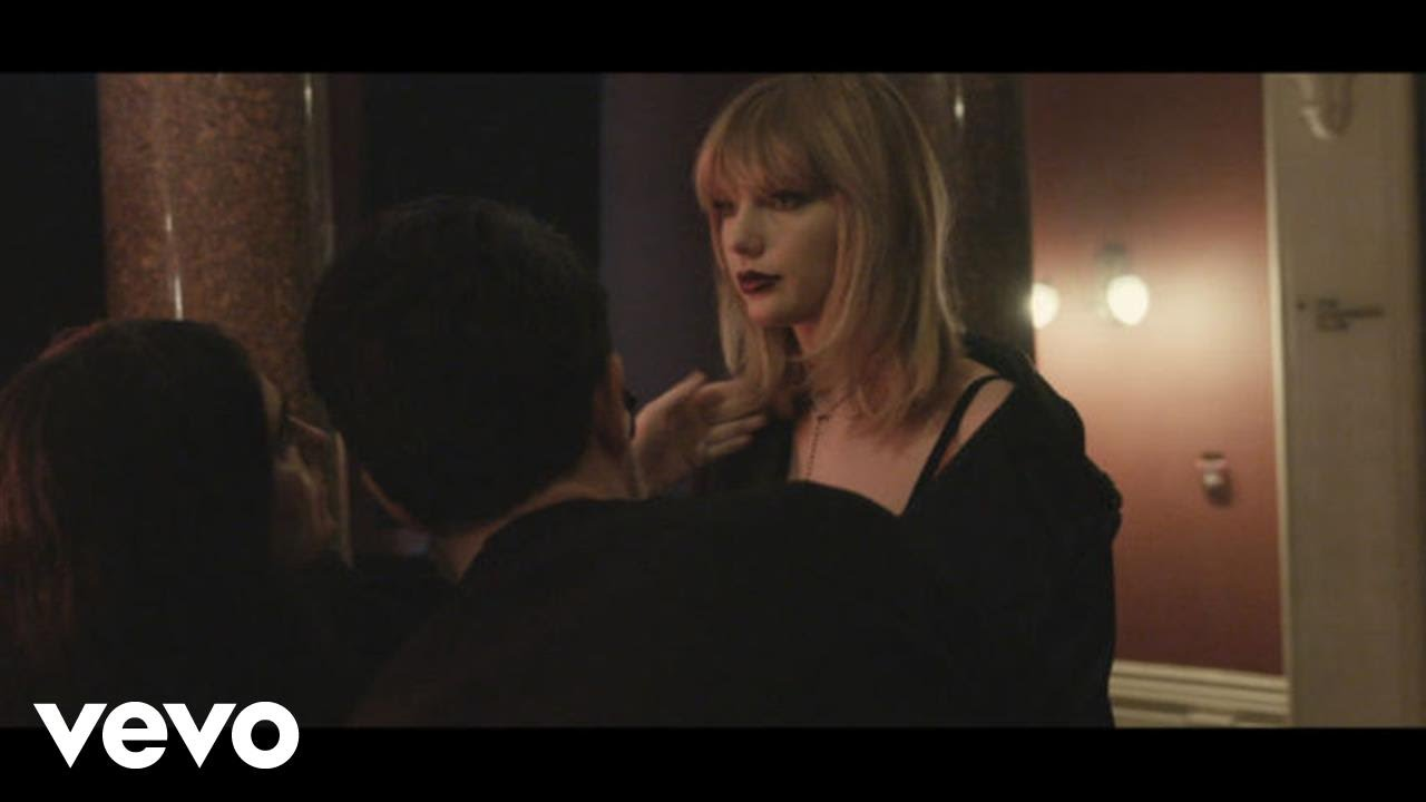 """Taylor Swift – """"I Don't Wanna Live Forever"""" (Fifty Shades Darker) (BTS Glitter Lip Footage) [Video]"""