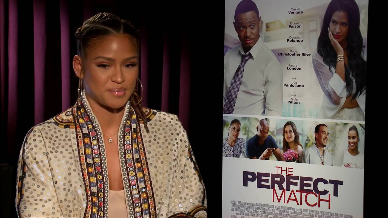 Terrence J & Cassie's The Perfect Match now available on Blu-ray, DVD, Digital HD and On Demand
