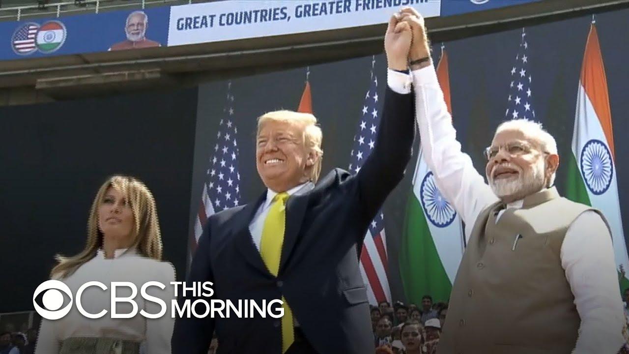 Trump's India trip includes massive rally