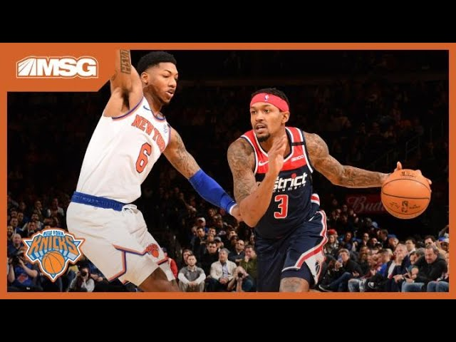 Turnovers & Poor Shooting Do In Knicks Against Wizards | New York Knicks