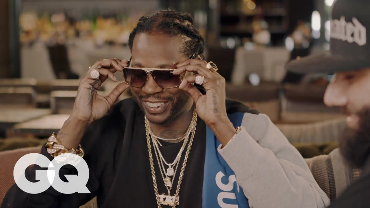Watch: 2 Chainz Tries on $48K Vintage Sunglasses on Most Expensivest Shit [GQ Video]