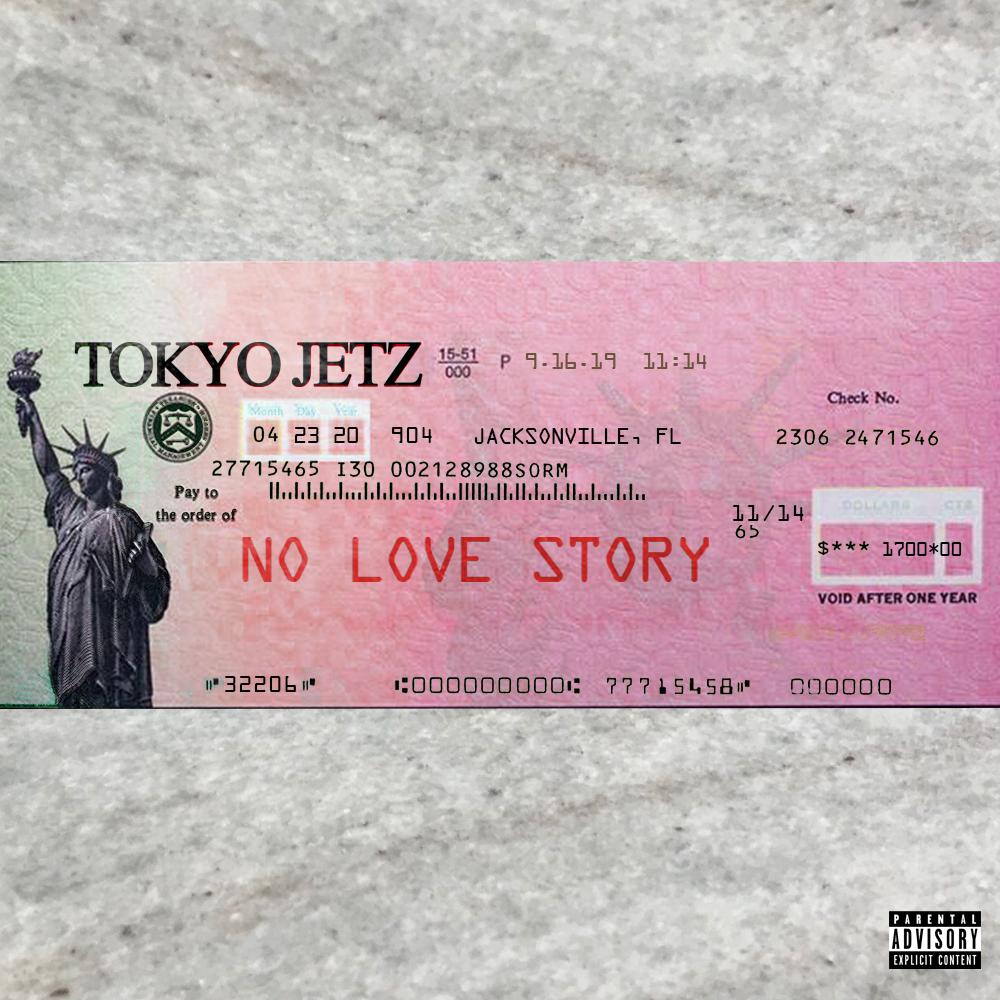 "Rap Artist Tokyo Jetz Drops New Single ""No Love Story"""