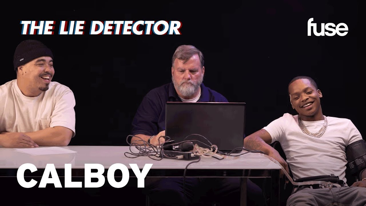 Calboy and His A&R Take A Lie Detector Test: Has He Ever Been Unfaithful? | Lie Detector | Fuse