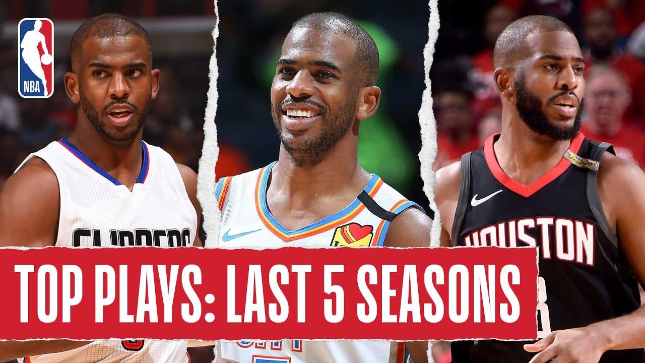 Chris Paul's TOP PLAYS | Last 5 Seasons