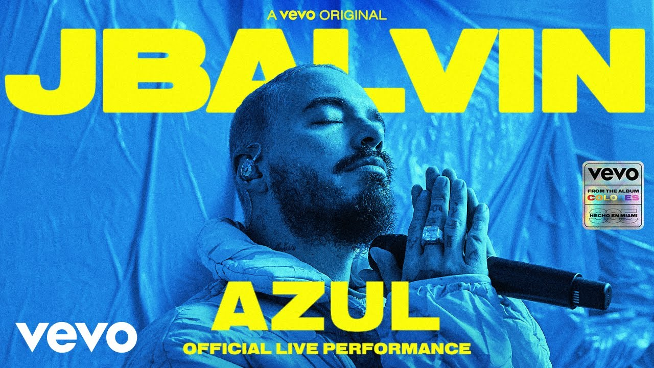 "J Balvin Perform ""Azul"" Live [Video]"