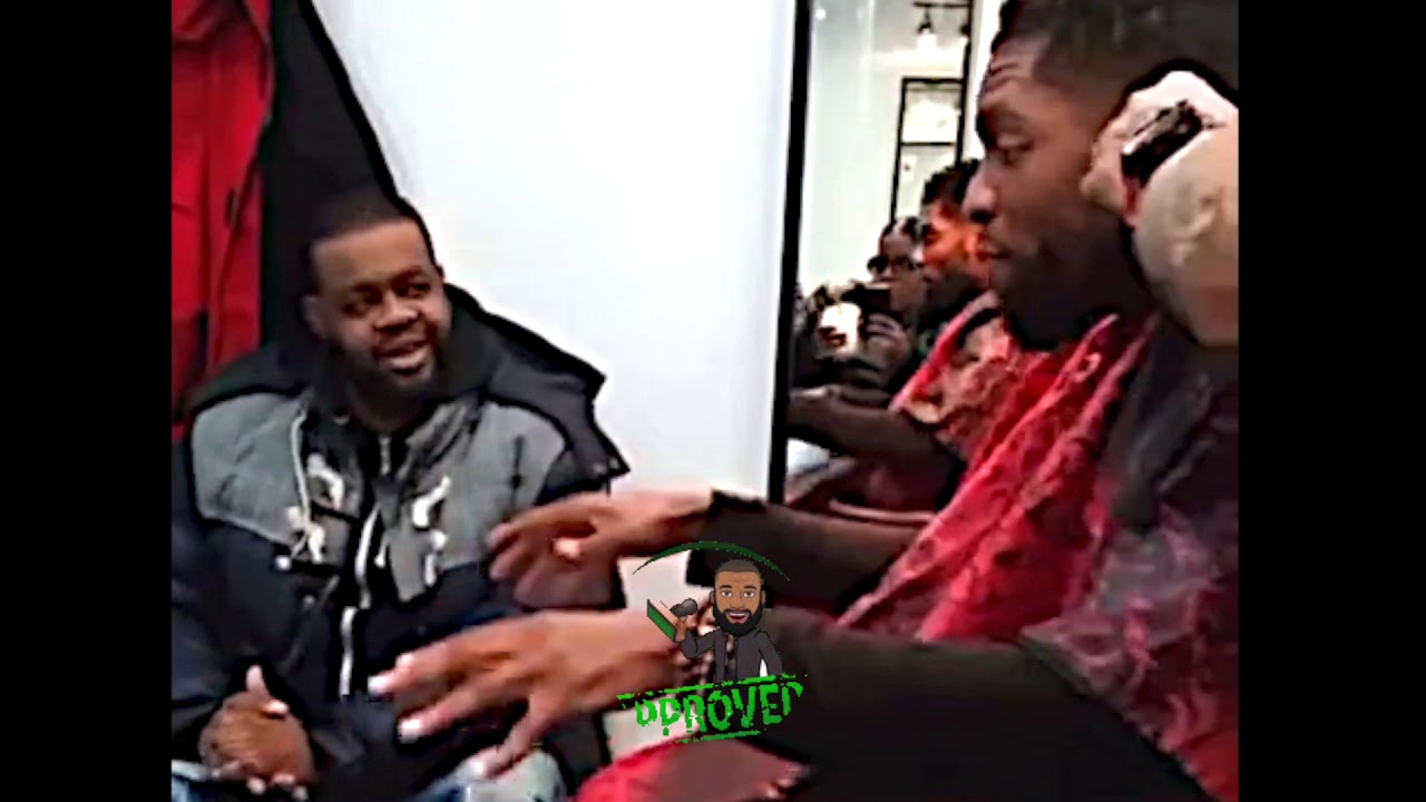 "LOADED LUX TALKING POWERFUL AT THE BARBERSHOP ""IT'S ABOUT TO BE A CULTURAL SHOCK"""