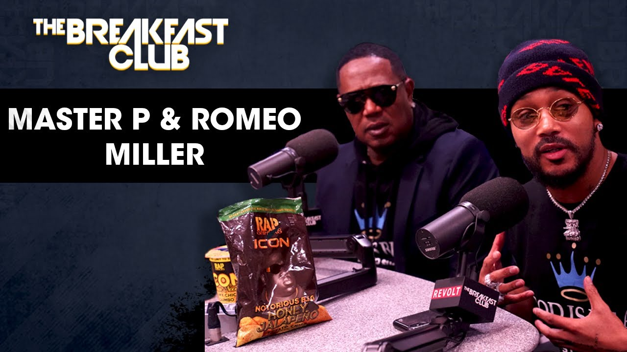 Master P & Romeo Miller Talk Leaving 'Growing Up Hip Hop', Self Wealth, Family Values + More