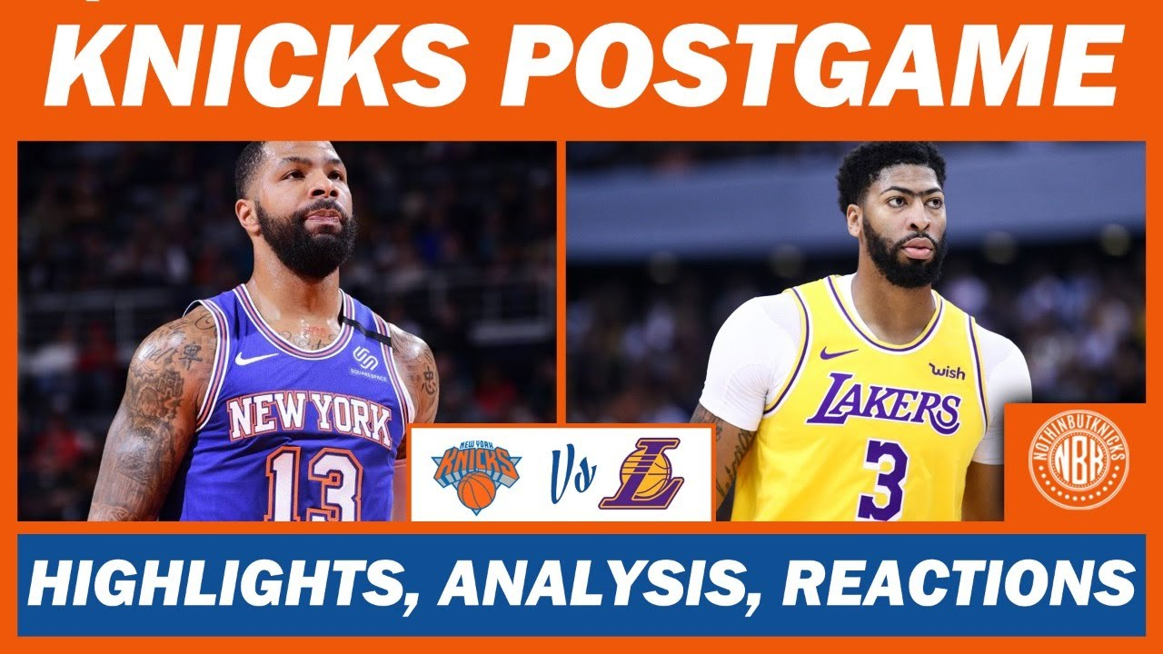 New York Knicks vs Los Angeles | Postgame Analysis, Highlights, and Reactions