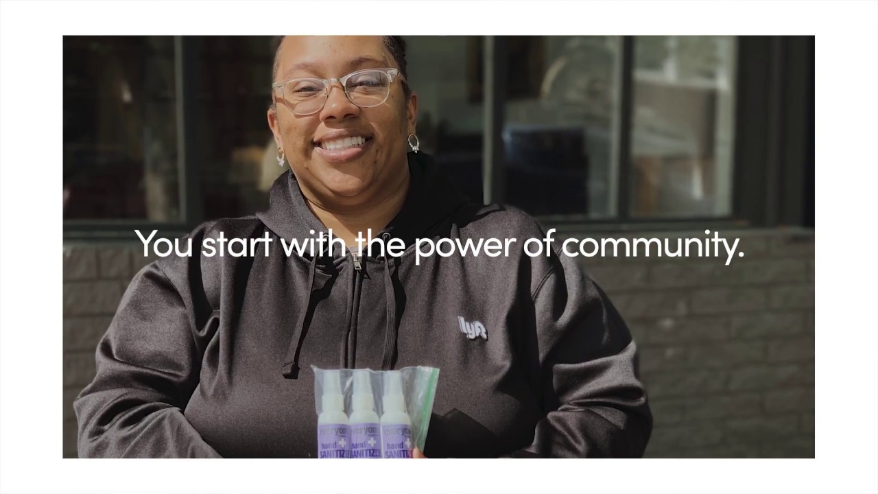 We're rallying our community to help your community.