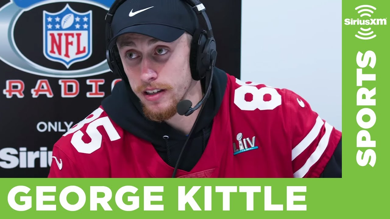 49ers Tight End George Kittle Ahead of the Super Bowl