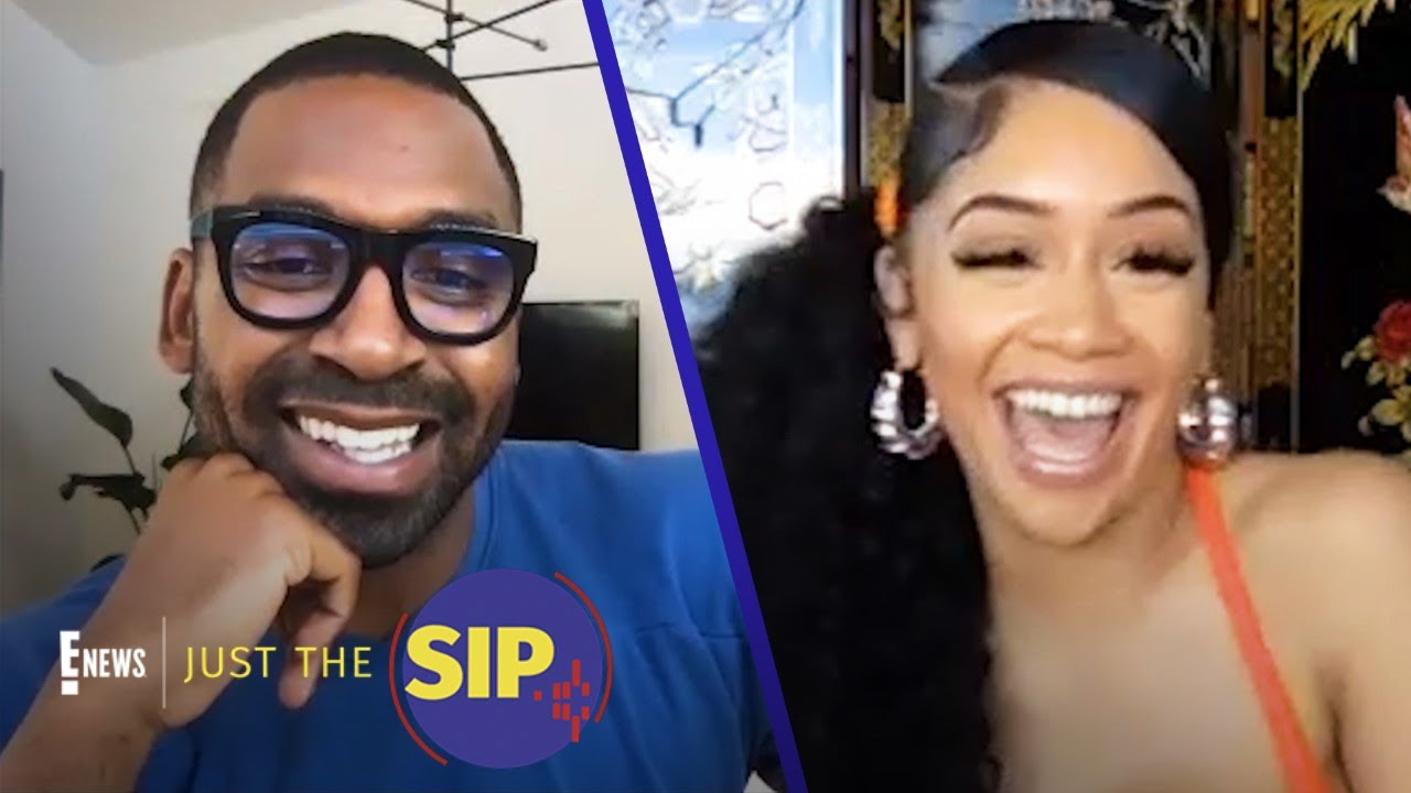Backstage With Saweetie: Makeup, Music & More | Just The Sip | E! News
