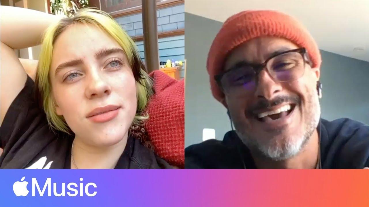 Billie Eilish: 'me & dad radio' and Recording Music at Home   Apple Music