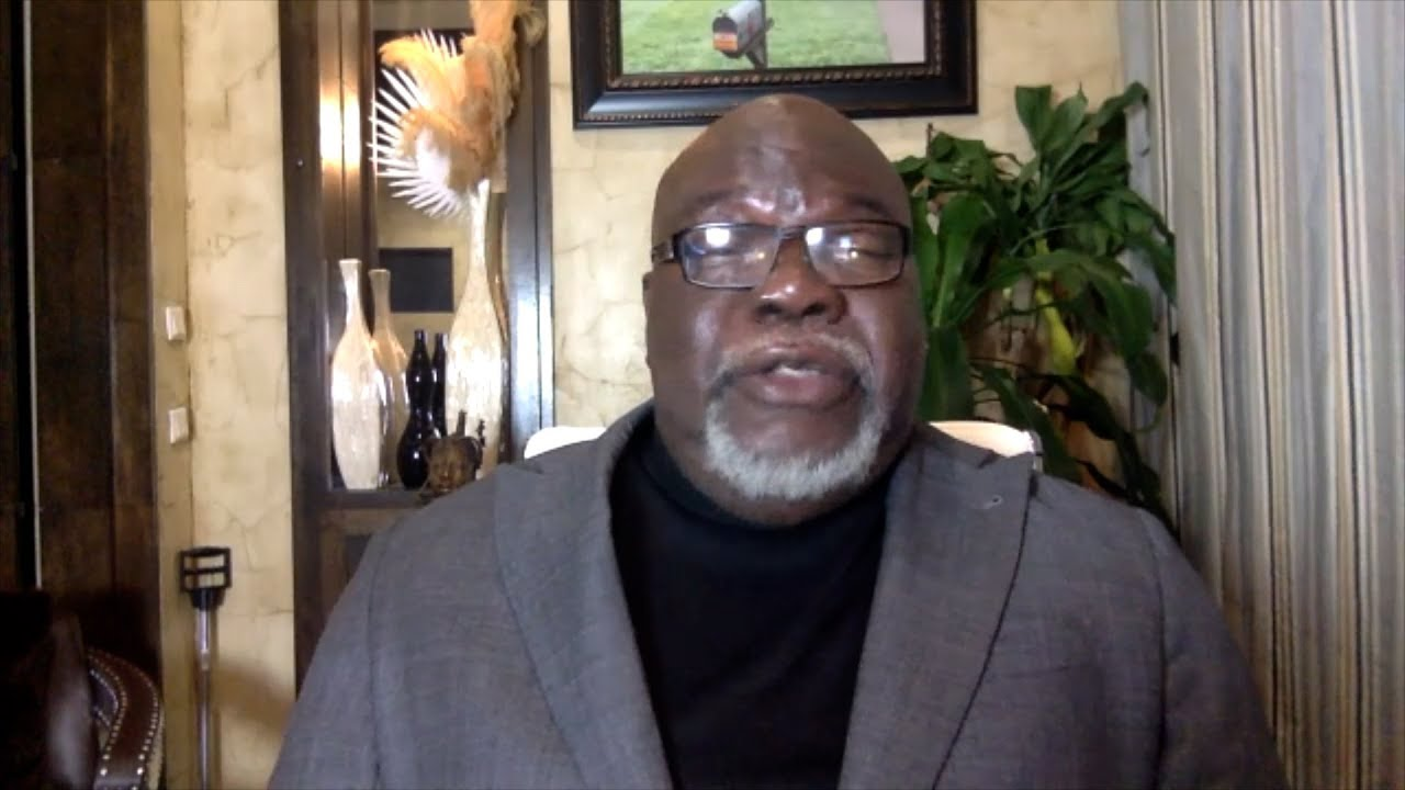 Bishop TD Jakes Speaks On Virtual Sermons, Faith, God's Plan + More