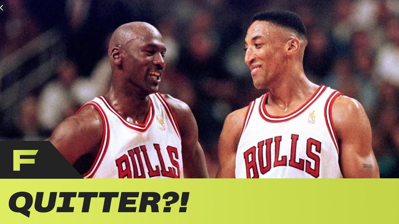 Britt Johnson Explains Why Scottie Pippen Is A QUITTER & Let The Bulls Down Throughout His Career