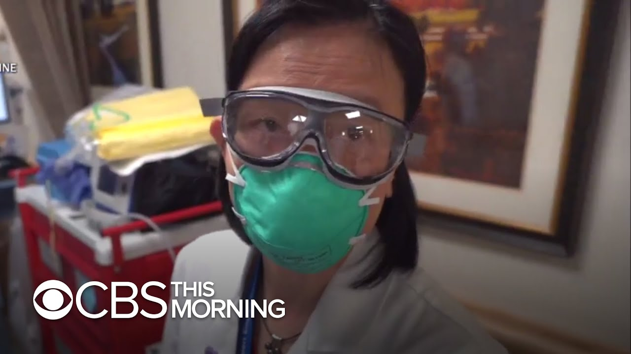 CBS News goes inside an NYC hospital on the front lines of COVID-19