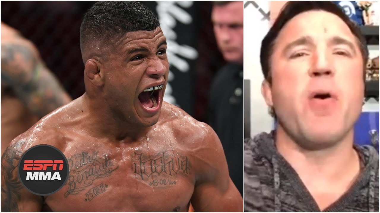 Chael Sonnen says Tyron Woodley has a worthy challenger in Gilbert Burns   ESPN MMA