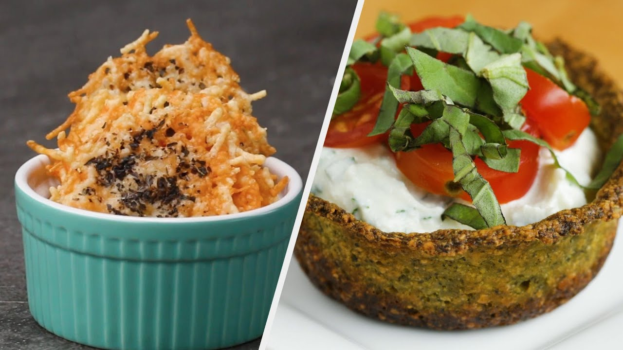Delicious & Cheesy Low Carb Snacks