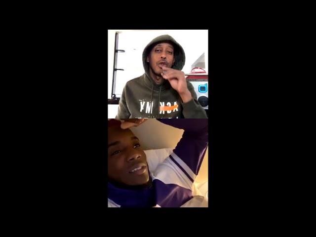 GILLIE DA KID TALKS HIS SHIT ON IG LIVE (FUNNY 😭😭)