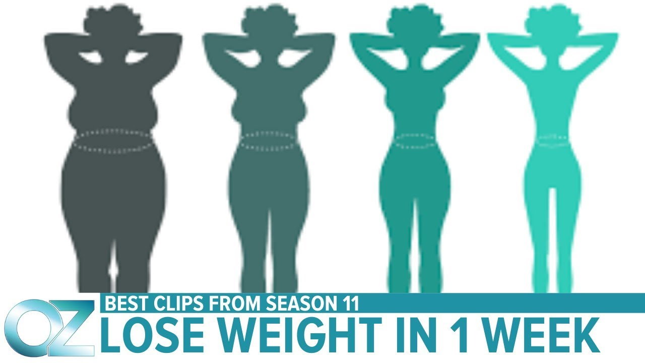 How to Lose Weight in Just One Week  – Season 11 Best Videos