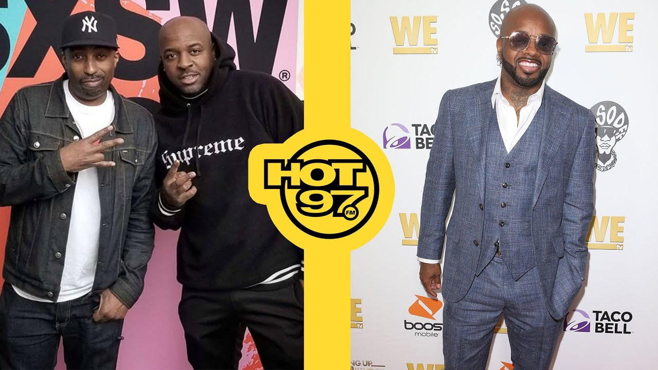 Is Jermaine Dupri Avoiding A Trackmasters Battle? | Ebro in the Morning LIVE!