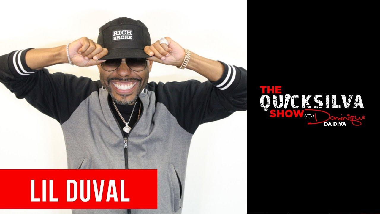 Lil Duval Joins The QuickSilva Show with Dominique Da Diva
