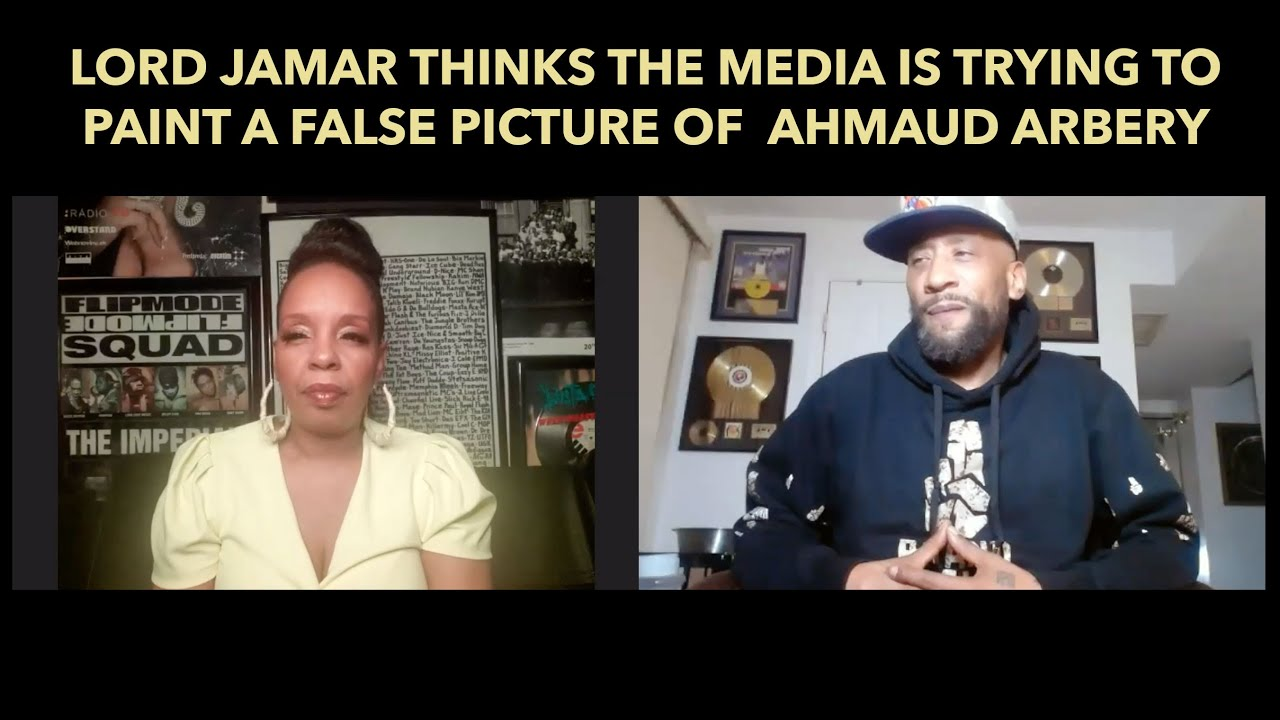 Lord Jamar thinks the media is trying to paint a false picture of Ahmaud Arbery