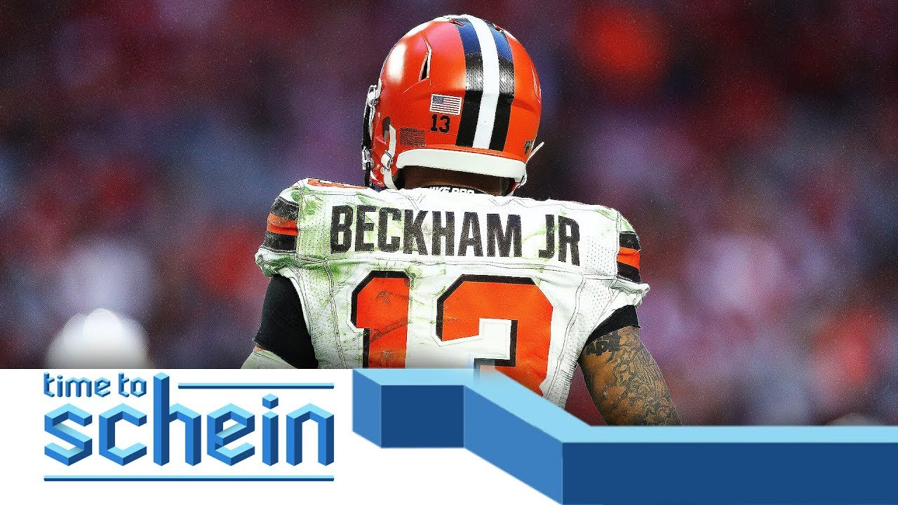 Odell Beckham Jr. predicts this season will be one of his BEST seasons | Time to Schein