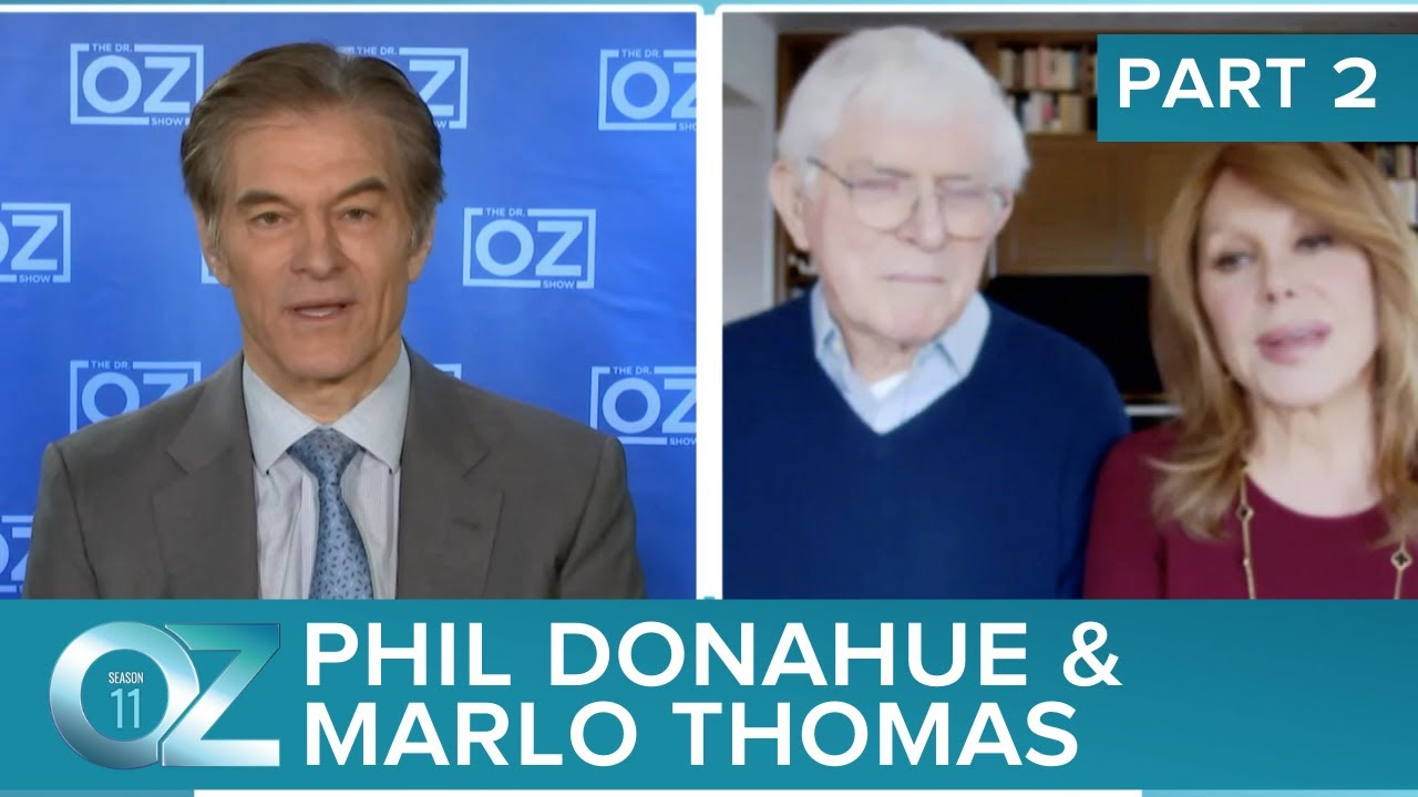 Phil Donahue And Marlo Thomas With Lessons On Love, Longevity And A Lifetime Together   Part 2