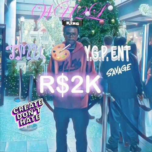 """R$2K Drops a New Single """"WU2L"""" (Prod. by Kid Ocean)"""