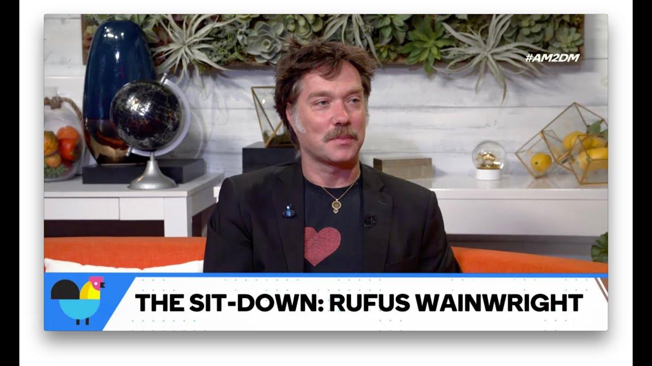 "Rufus Wainwright Has ""Not My President"" Shoes"