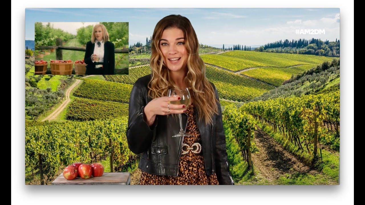 """Schitt's Creek"" Star Annie Murphy Recreates Moira's Wine Commercial"