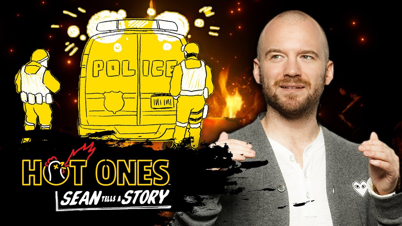 Sean Evans Tells the Story of the Time a SWAT Team Raided His Apartment | Sean Tells A Story