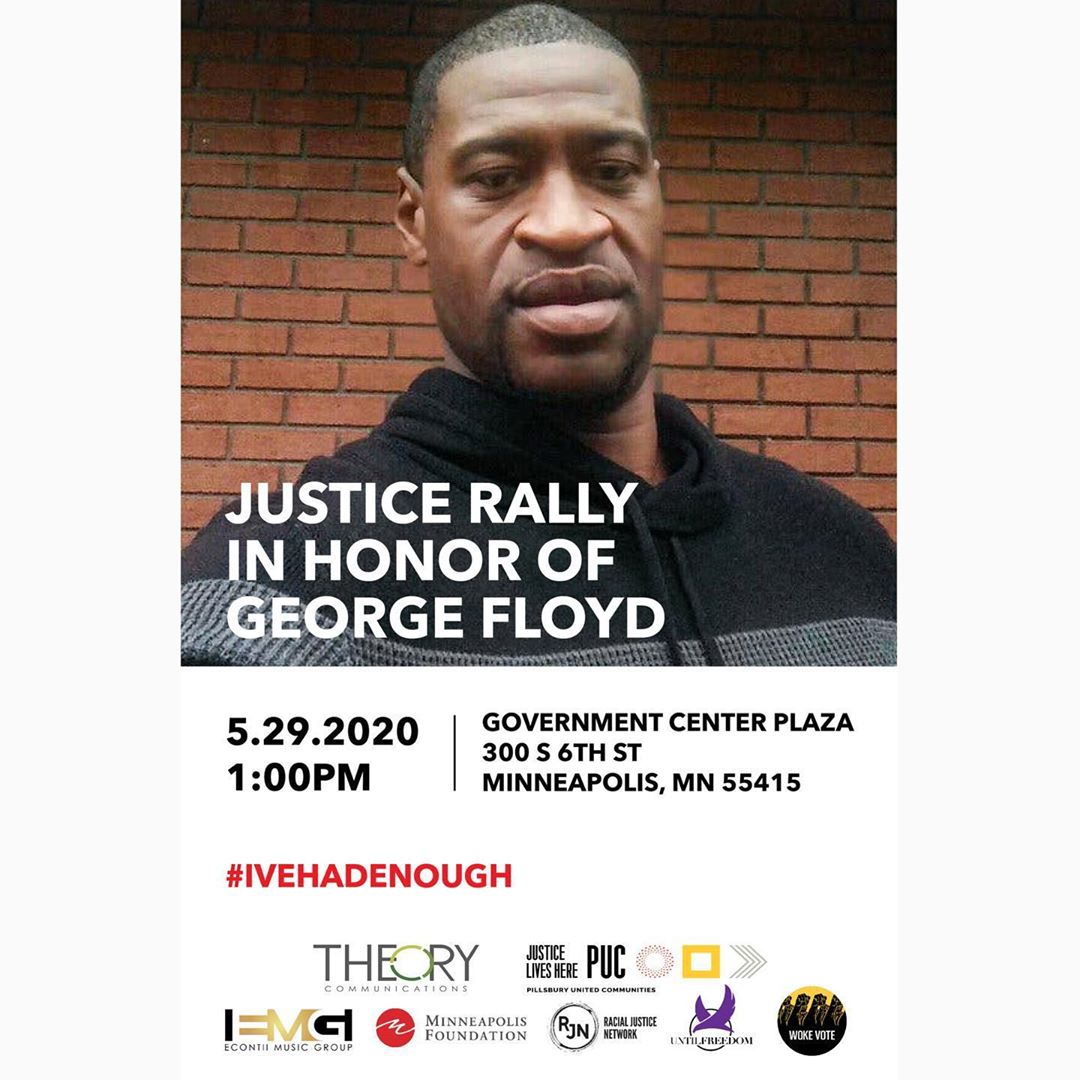 Stephen Jackson, Jamie Foxx, Tamika Mallory and More Join Forces for a Press Conference to Call for Justice of George Floyd