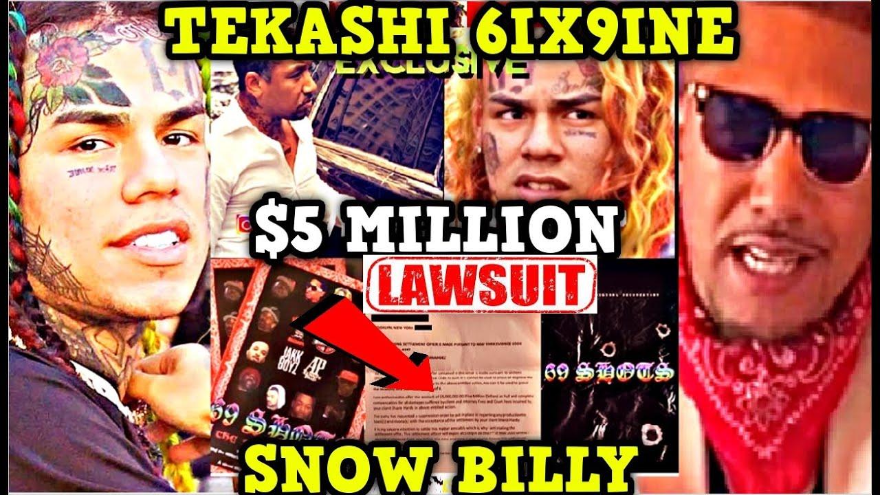 Tekashi 6ix9ine Offers OG Snow Billy 5 Million On Lawsuit! SUPPRESSION Order on Book & NETFLIX Deal