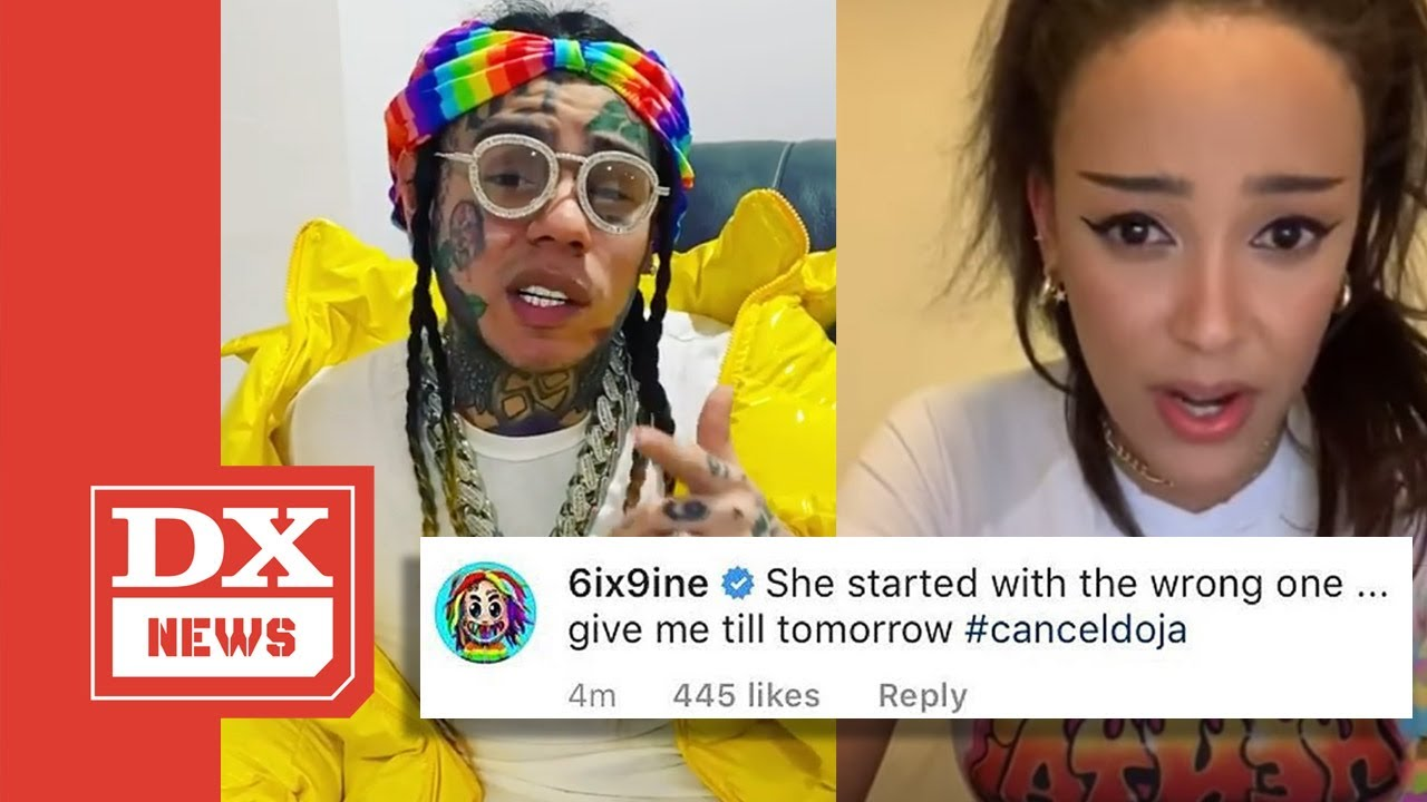 Tekashi 6ix9ine Wants Doja Cat Canceled