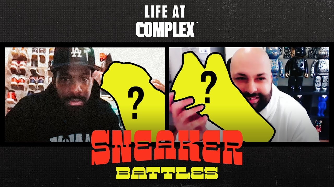 TMarkGotKickss Vs WhoisHeck In A Sneaker Battle From Home | #LIFEATCOMPLEX