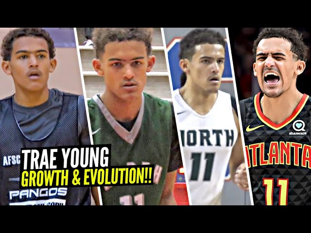 Trae Young's INCREDIBLE Evolution Through The Years! From TINY Guard To NBA All-Star in 6 Years!