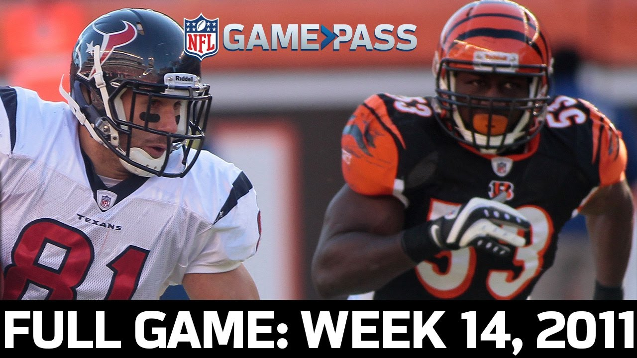 A Scintillating Showdown in Cincy! Houston Texans vs. Cincinnati Bengals Week 14, 2011 Full Game
