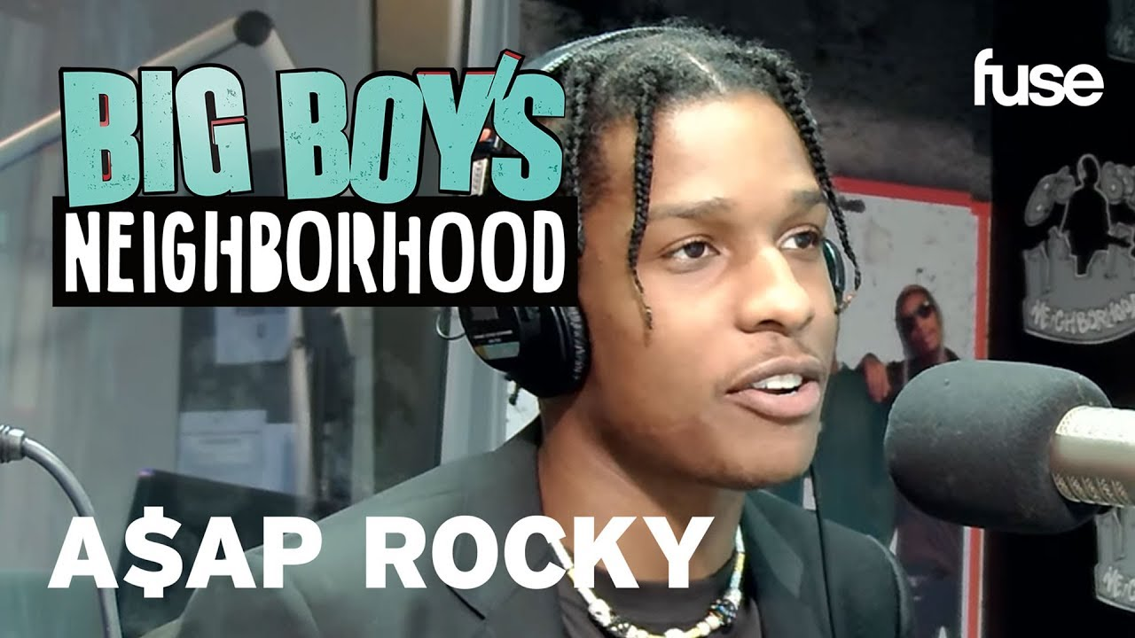A$AP Rocky Talks Bra-Throwing And Live Shows | Big Boy x Fuse