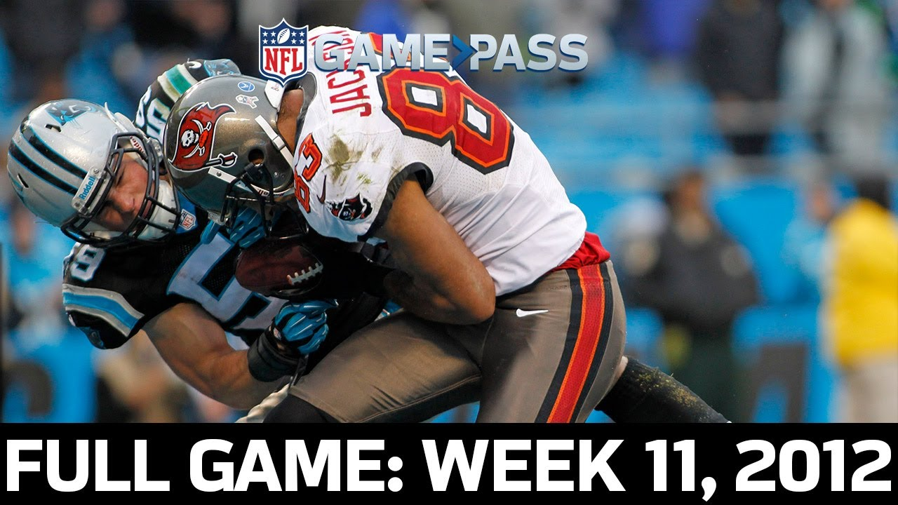 An NFC South Showdown! Tampa Bay Buccaneers vs. Carolina Panthers Week 11, 2012 Full Game