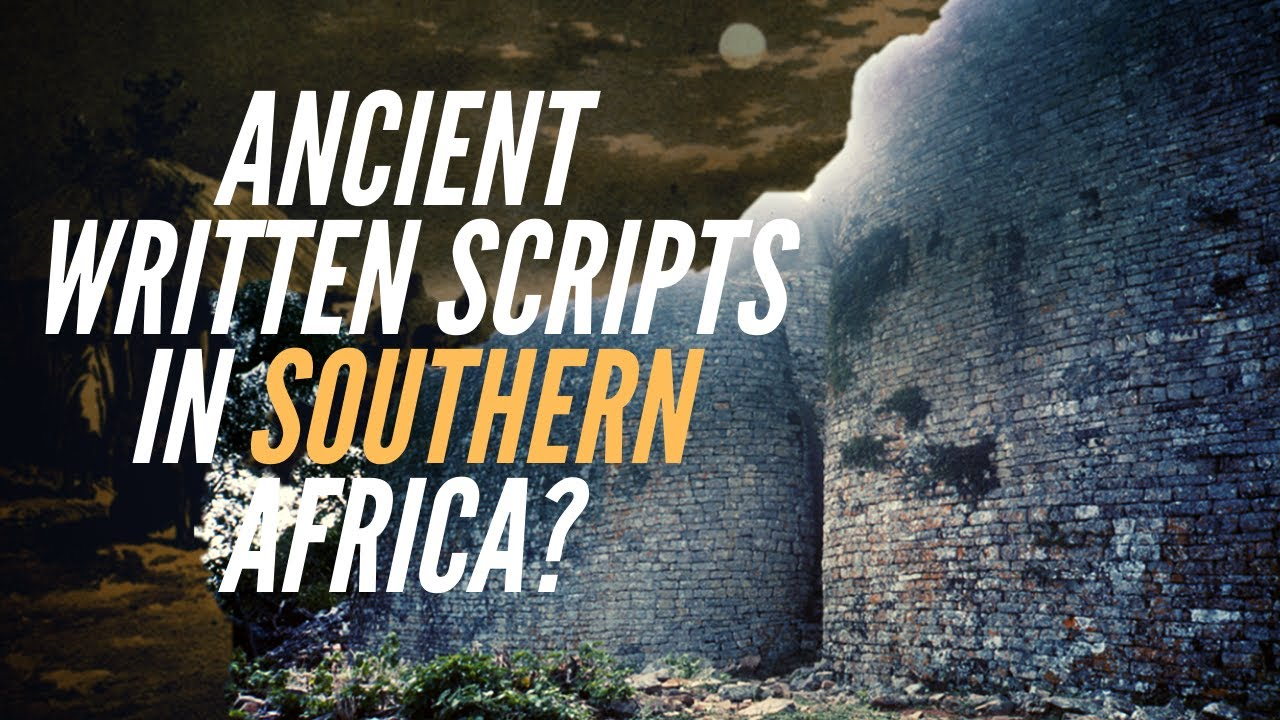 Ancient Written Scripts in Southern Africa?