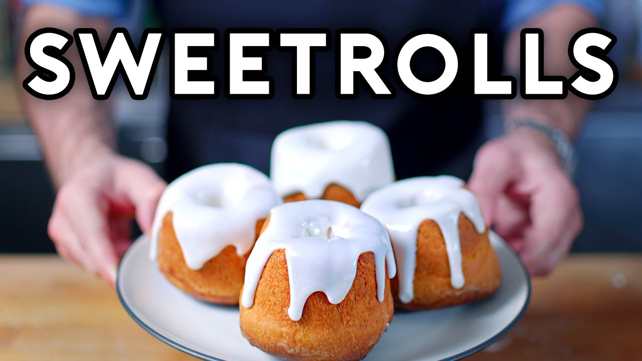 Binging with Babish: Sweetrolls from Skyrim