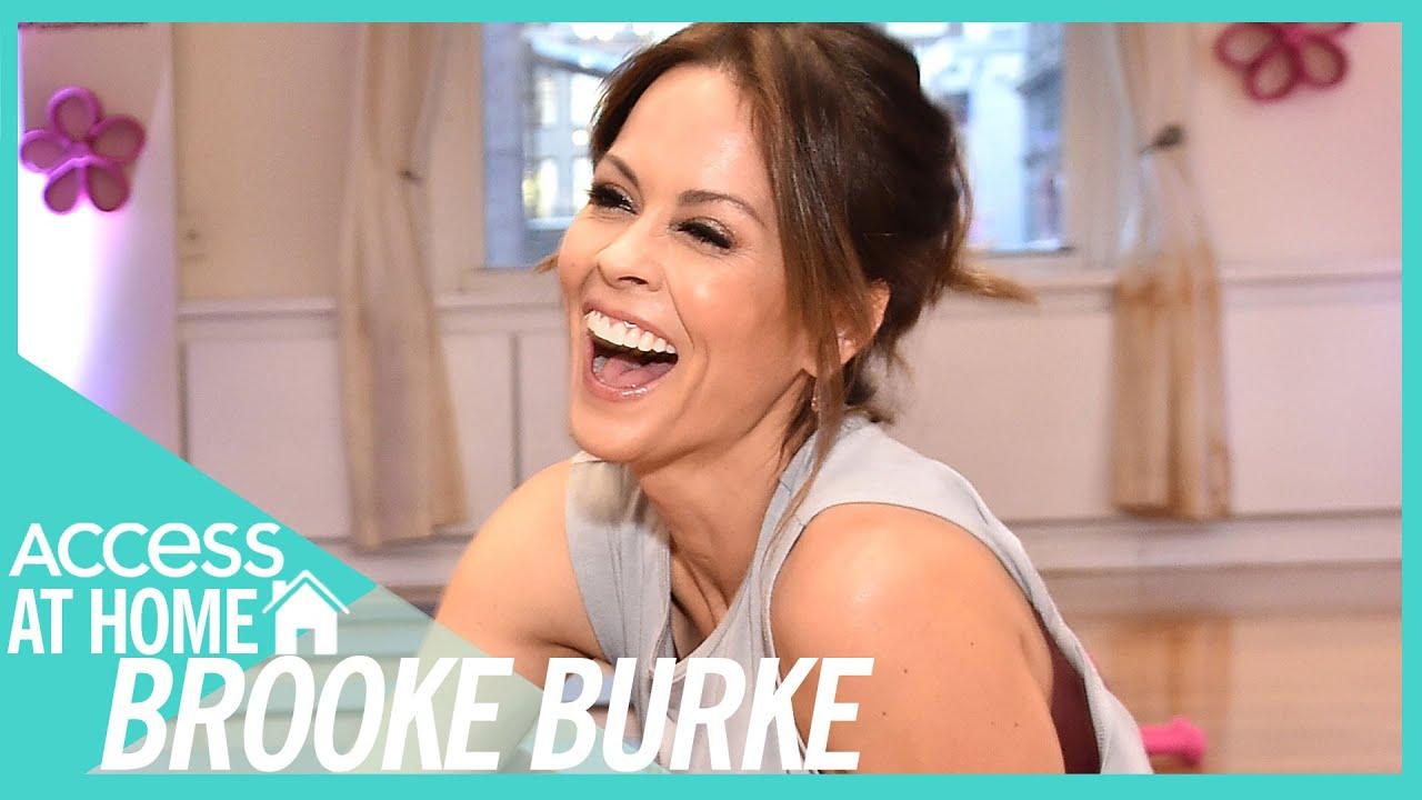 Brooke Burke Shares Booty Burn Workout Tips | #AccessAtHome
