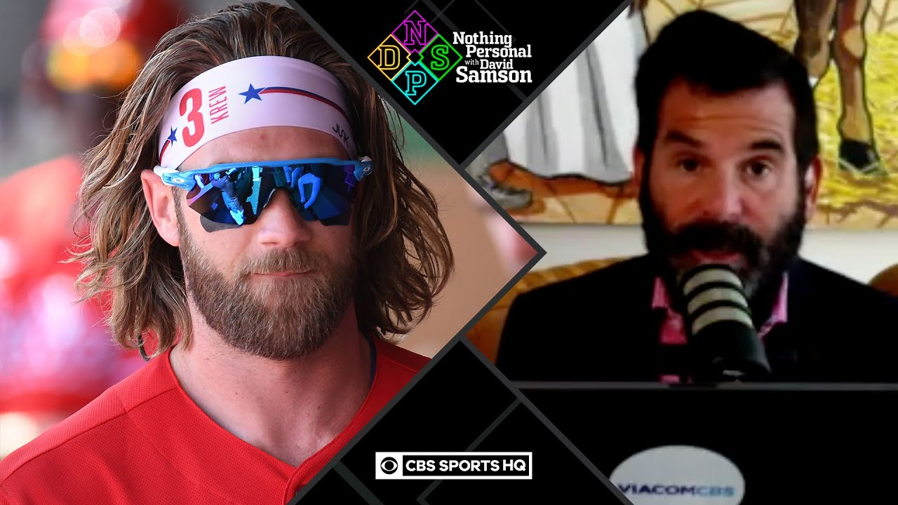 Bryce Harper wants MLB to STOP PLAYING during 2021 Olympics | Nothing Personal with David Samson