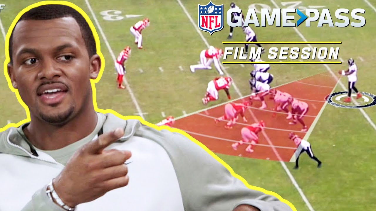 Deshaun Watson Breaks Down Reading Naked Routes, Red Zone Plays, & More | NFL Film Session