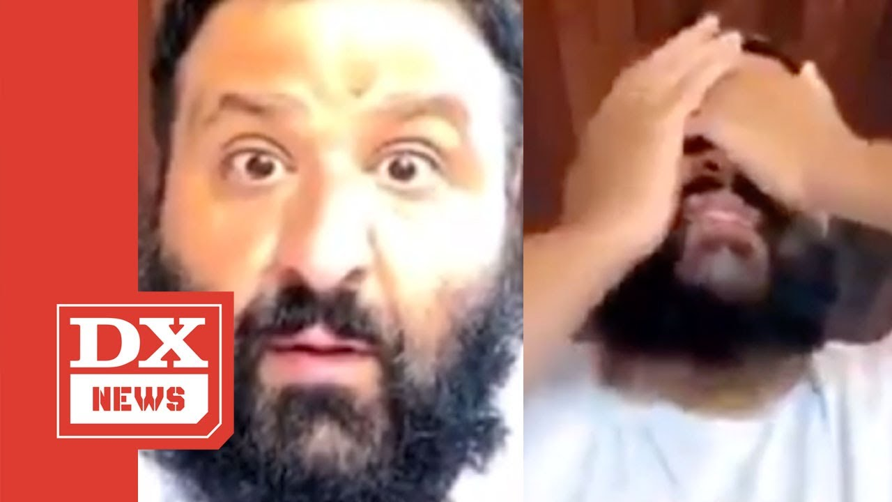 DJ Khaled Gets Ambushed By Twerking Woman On His Instagram Live