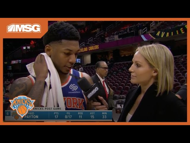Elfrid Payton and DSJ Describe Overtime Game Plan vs. Cavs | New York Knicks