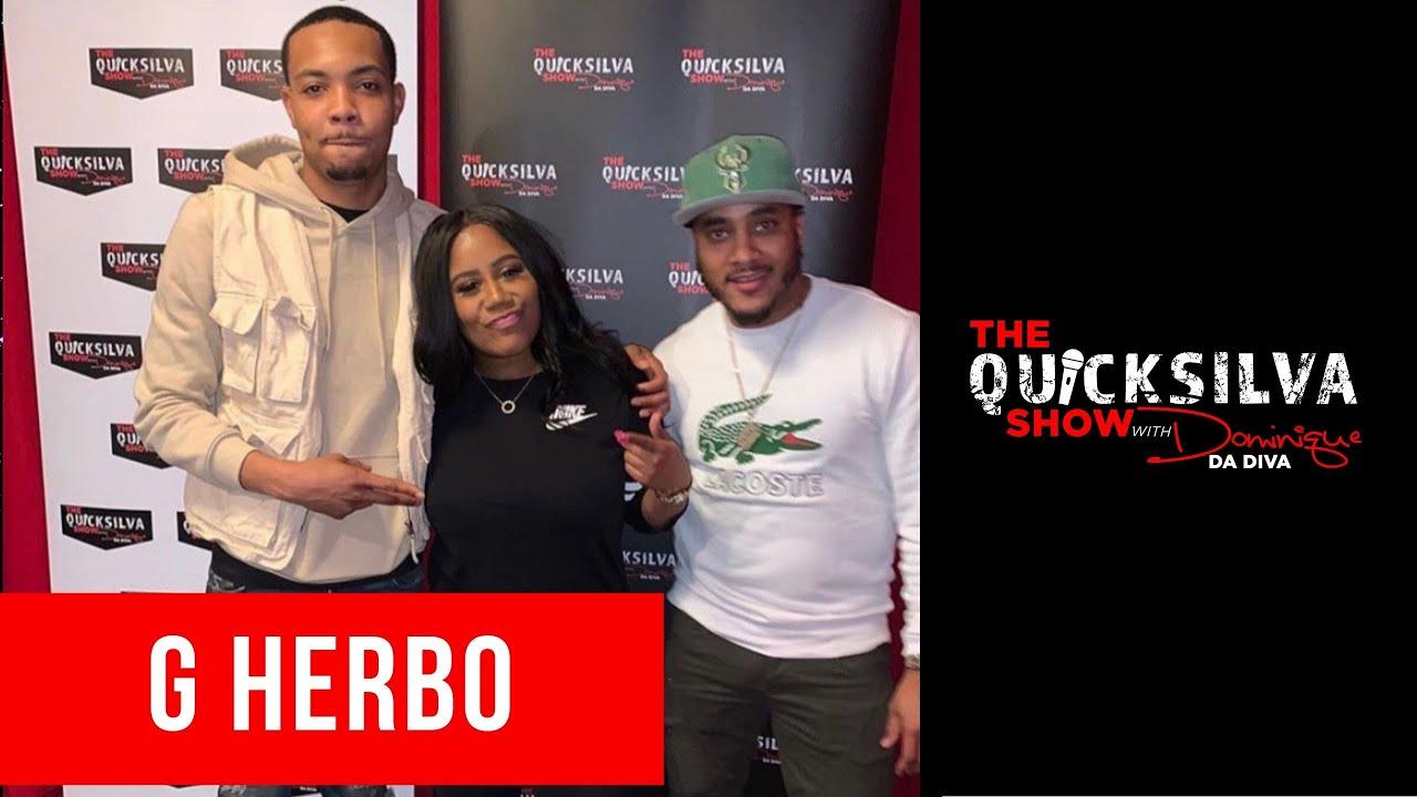 G Herbo Joins The QuickSilva Show with Dominique Da Diva