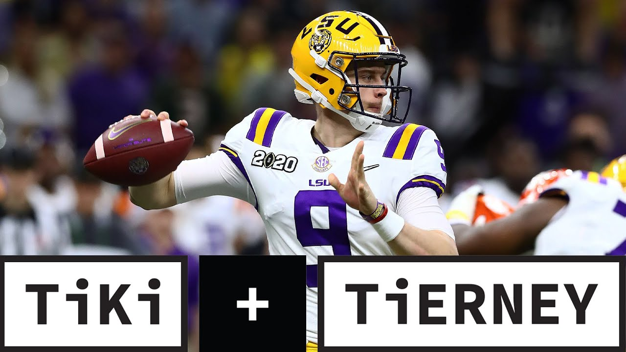 Is Joe Burrow Worth It For The Dolphins To Trade Up?   Tiki + Tierney