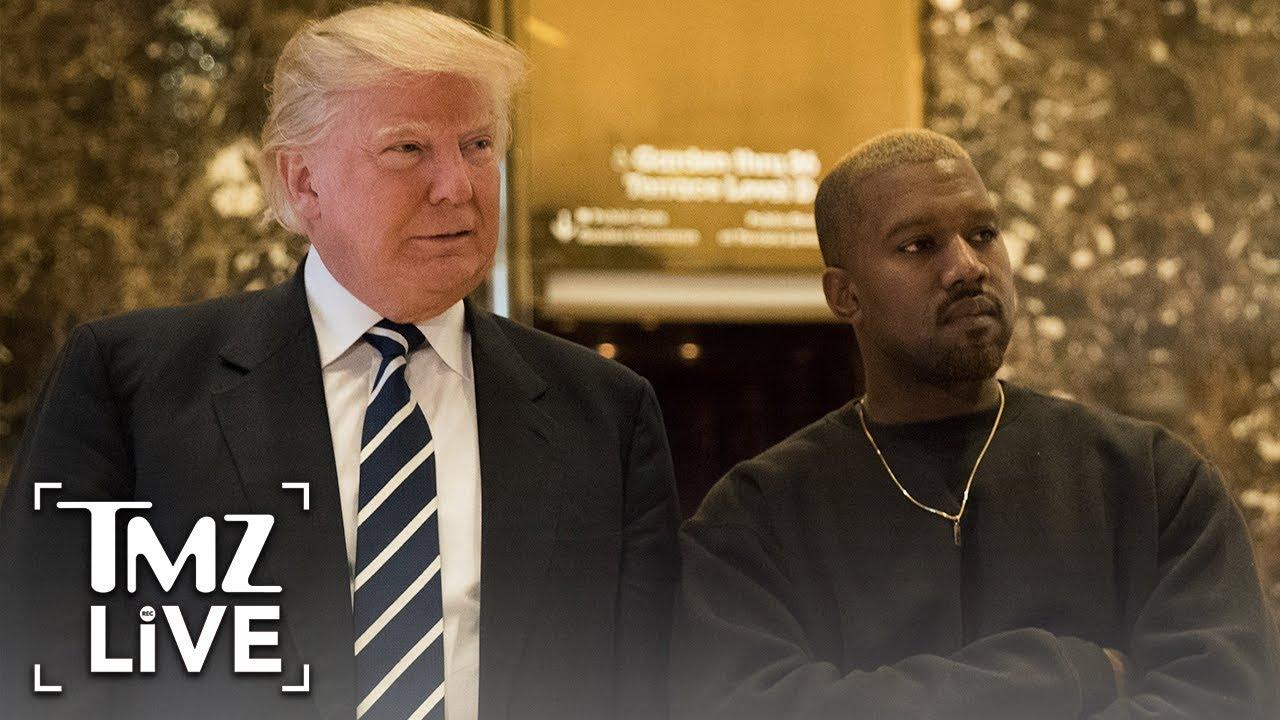 Kanye West  I'm Still Voting For Trump! | TMZ Live